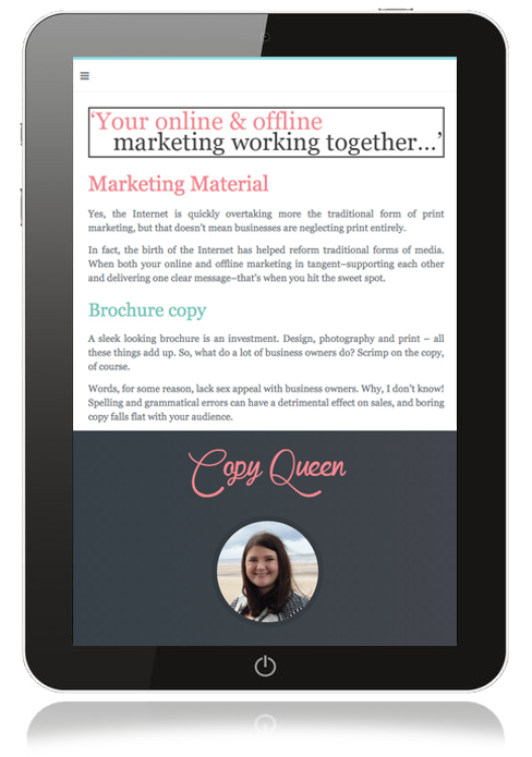 ipad-copywriting-website