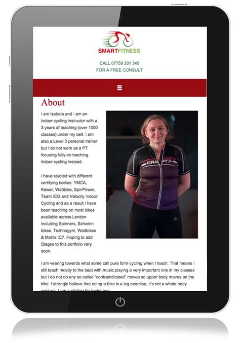 ipad-fitness-website