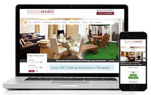 Web design Blackpool apartments